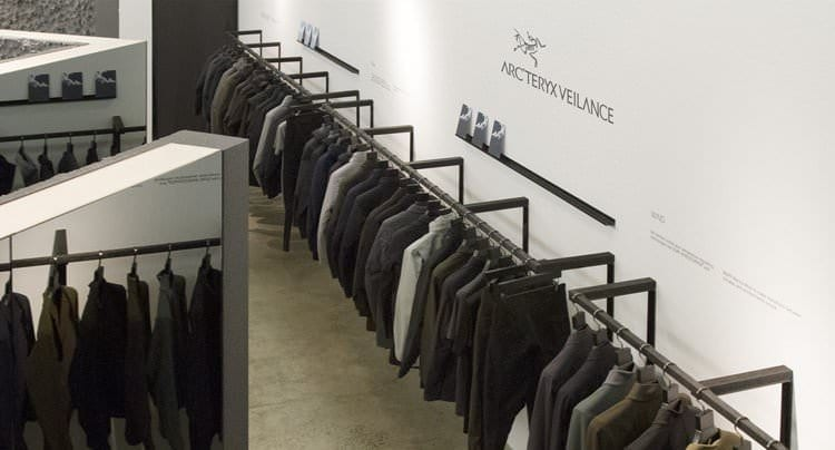 Arc'teryx Veilance: 1. Pop-Up-Store in NYC