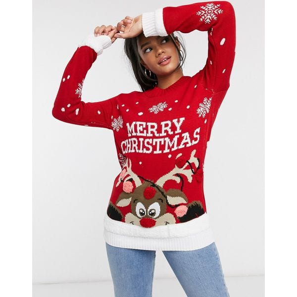 """""""Merry Christmas""""-Pullover"""