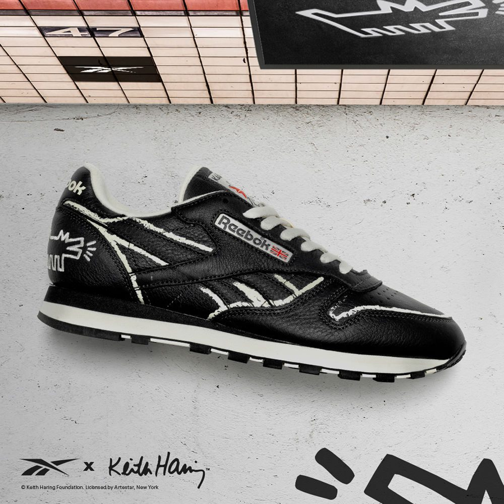 Classic Leather Keith Haring, Foto: Reebok